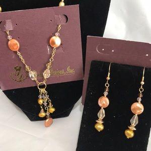 Premiere Designs necklace earrings set